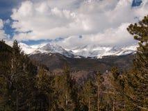 Chaîne de montagne rocheuse Image stock