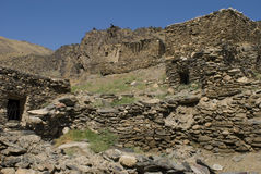 Chaîne de Nuratau dans Uzbekistan images stock