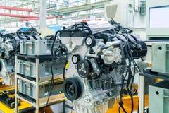 Chaîne de production d'automobile photo stock