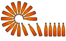 Chaîne de production de bière Image libre de droits