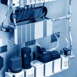 Chaîne de production des commutateurs électriques Photographie stock libre de droits