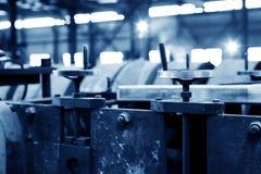 Chaîne de production en acier d'usine Image libre de droits