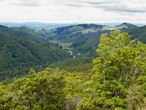 Chaîne de Tararua sur l'île du nord de la Nouvelle Zélande Image libre de droits