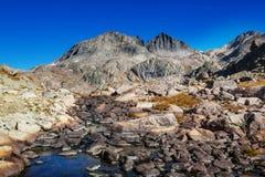 Chaîne de Wind River images stock