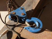 Chaîne en acier Image stock