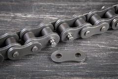 Chaîne industrielle de rouleau Image libre de droits