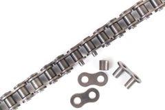Chaîne industrielle de rouleau d'entraînement Image stock