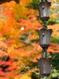 Chaîne japonaise de pluie Photo stock