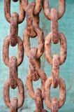 Chaîne rouillée Photo libre de droits
