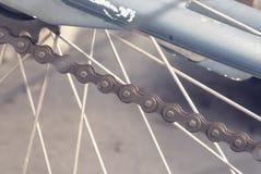 Chaînes de bicyclette Images stock