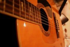Chaînes de caractères de Gitar Images libres de droits