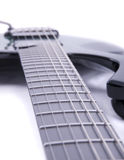 Chaînes de caractères de guitare photo stock
