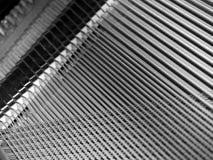 Chaînes de caractères de piano Image libre de droits