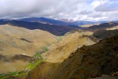 Chaînes de montagne, Maroc Photo stock