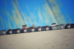 Chaînes de tronçonneuse Photo libre de droits