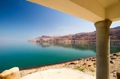 Chałupa na Nieżywym morzu Fotografia Royalty Free