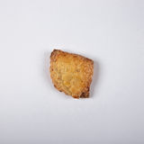 Chałupa sera ciastek praca domowa na białym tle Fotografia Stock