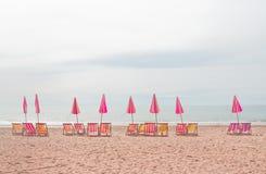 Cha上午海滩, 库存图片