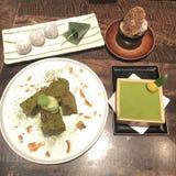 Cha десерт стоковая фотография rf