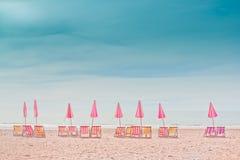 Cha -上午海滩, 免版税图库摄影