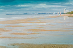 Cha-am Beach. Royalty Free Stock Images