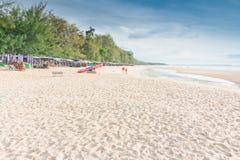 Cha-am Beach. Royalty Free Stock Photography