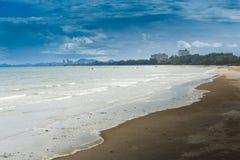 Cha-am Beach. Royalty Free Stock Image