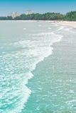 Cha-am Beach. Royalty Free Stock Photo