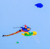 CHA AM BEACH - MARCH 9th : 15th Thailand International Kite Festival Royalty Free Stock Image