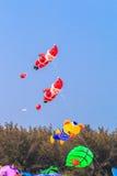 CHA AM BEACH - MARCH 9th : 15th Thailand International Kite Festival Royalty Free Stock Image