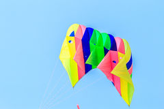 CHA AM BEACH - MARCH 9th : 15th Thailand International Kite Festival. In Petchaburi province of Thailand Royalty Free Stock Photos