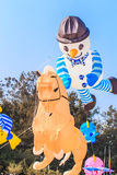 CHA AM BEACH - MARCH 9th : 15th Thailand International Kite Festival. In Petchaburi province of Thailand Stock Photography