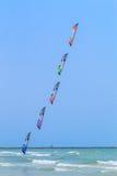 CHA AM BEACH - MARCH 9th : 15th Thailand International Kite Festival Stock Images