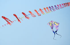 CHA- AM BEACH - MARCH 28: Thailand International Kite Festival Royalty Free Stock Image