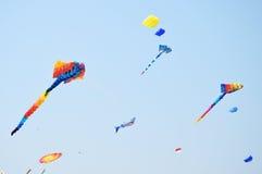 CHA- AM BEACH - MARCH 28: Thailand International Kite Festival Stock Photo