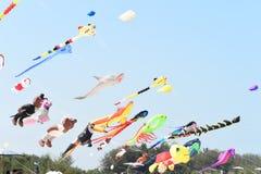CHA- AM BEACH - MARCH 28: Thailand International Kite Festival Royalty Free Stock Photography