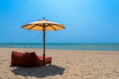 Cha Am Beach, Thailand Royalty Free Stock Image