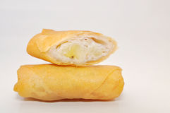 Cha Gio or Vietnamese spring roll on a white background Stock Image
