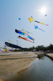 ​Cha-am International Kite Festival 2015 Thailand. Stock Images