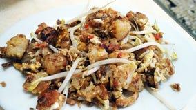 Cha Kueh - traditioneller kueh Rettich Lizenzfreies Stockfoto