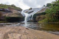 'Cha Nan' vattenfall Bungkan Thailand Fotografering för Bildbyråer