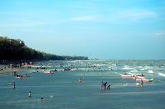 Cha-sono la spiaggia Fotografie Stock