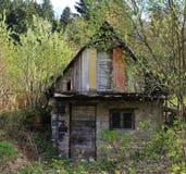 Chałup ruiny Zdjęcia Stock