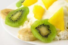 chałup serowe owoc Zdjęcie Stock