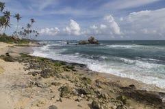 Chałupa morzem Zdjęcie Stock