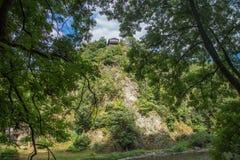 Chałupa na wzgórzu Zdjęcie Royalty Free