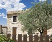 chałupa Provence typowy Zdjęcia Royalty Free