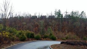 Chałupa w wsi Tennessee obraz royalty free