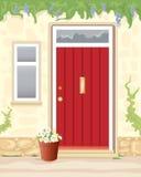 Chałupy drzwi Fotografia Royalty Free