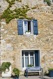 chałupy francuza wioska Zdjęcia Royalty Free